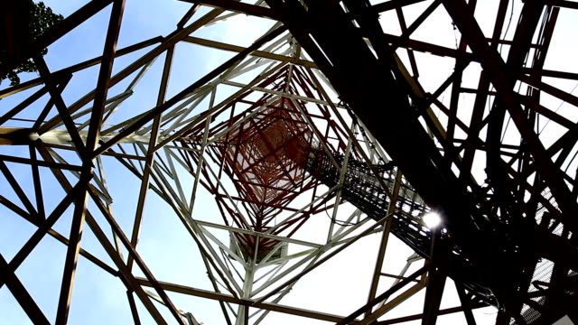 under the Communications Tower video