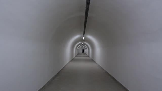 Underground bunker from cold war video