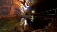 Underground River, Cave Timelapse video