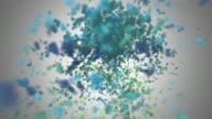 Underwater Fireworks - HD 1080 video