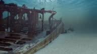 Underwater Shipwreck Loop - HD1080, NTSC-16x9, PAL-16x9 video