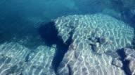 Underwater stones video