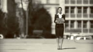 HD: Unemployed Businesswoman video