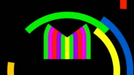 Unfolding Colorful Eye in Basic Shapes video
