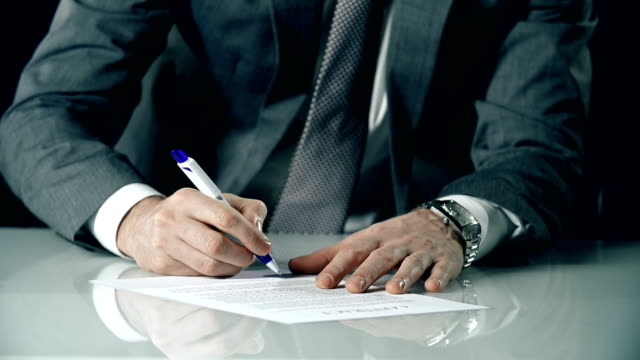 Unilateral Contract Signature video
