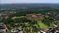 Union Buildings  - Aerial View - Gauteng,  City of Tshwane Metropolitan Municipality,  City of Tshwane,  South Africa video