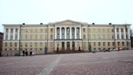 Unionsgatan Helsinki Finland - time lapse video