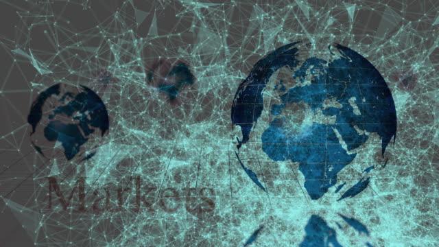 Unique World Map Animation video
