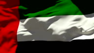 United Arab Emirates Flag video