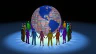 (Loop) United Around the Globe video