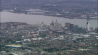 United Kingdom - Everton Fc  - aerial view video