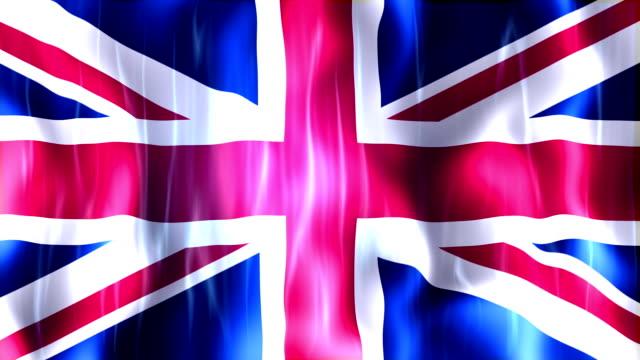 United Kingdom Flag Animation video