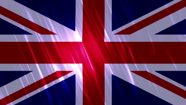United Kingdom Flag Loopable Animation video