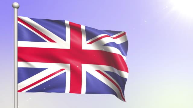 United Kingdom Flag (Loopable) video