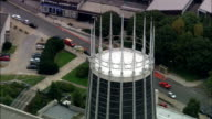 United Kingdom - Liverpool Metropolitan Cathedral - aerial view video