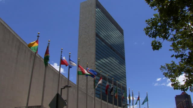 United Nations Building HD video