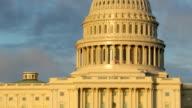 United States Capitol building closeup, Washington DC video