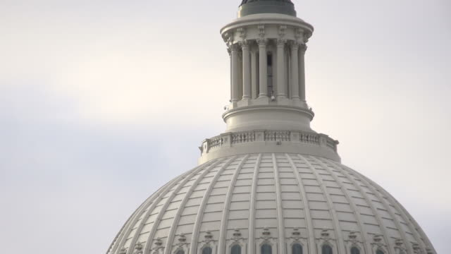 United States Capitol Building in Washington D.C. video