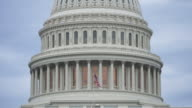 United States Capitol Dome in Washington, DC video