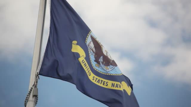 United States Navy Flag video