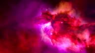Universe Galaxy nebula video