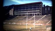 (1960's 8mm Vintage) University of Colorado at Boulder Old Stadium Shots video