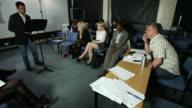University presentation class video
