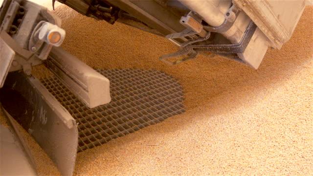 Unloading corn video
