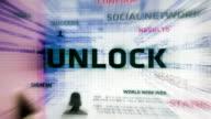 Unlock Button (White) video