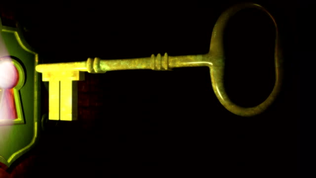 Unlock Door 3d Animation video