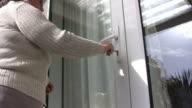 Unlocking a door video
