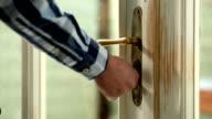 Unlocking the door video