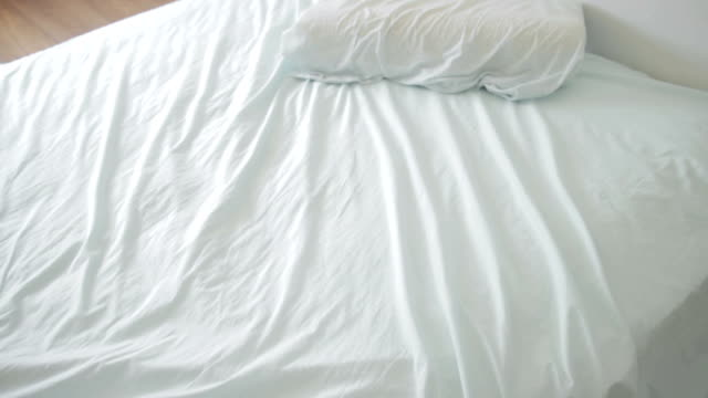 Unmade bed video