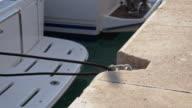 SLO MO Unmooring the boat video