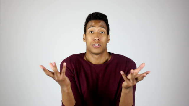 Unsatisfied  Man Reacting on Task Failure video