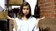 Unsatisfied Upset Girl video
