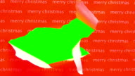 Unwrapping gift green screen V1 - HD video