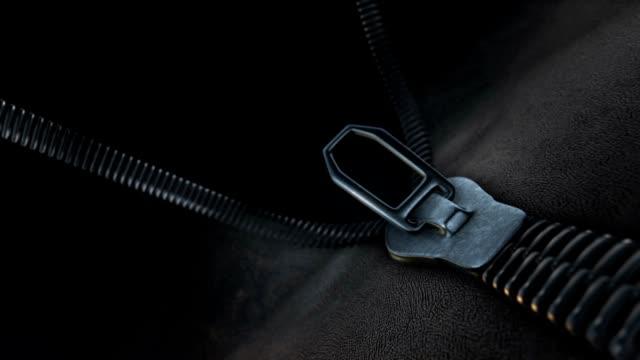 Unzipping a zipper, fashion transition video