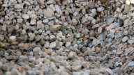 Up view of gravel enterprise working video