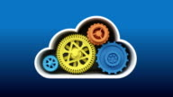Upgrade and repair Cloud IT solution service animation (included Alpha) video