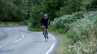 Uphill Cycling video