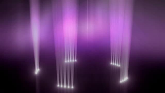 Up-light Ring Revolve Background Loop Pink video