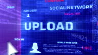 Upload Button In The Digital World video