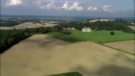 Uppark House  - Aerial View - England, West Sussex, Chichester District, United Kingdom video