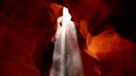 Upper Antelope Canyon Light Ray Tilt video