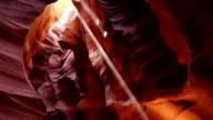 Upper Antelope Canyon Panorama Tilt video
