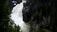 Upper Falls in Yellowstone National Park, Wyoming video