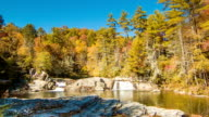 Upper Pond with Waterfalls at Linville Falls, NC video