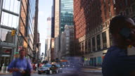 uptown manhattan traffic street 4k time lapse from new york video
