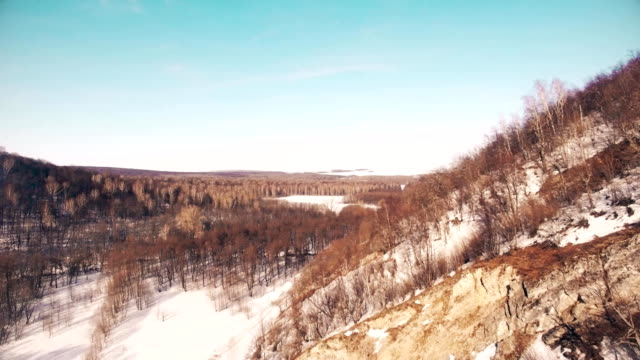 Ural Mountains and Spring Forest, Bashkortostan Russia video